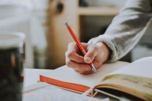 journaling to calm worry